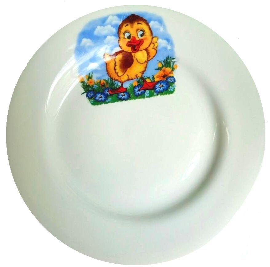 Детский набор посуды Детская тематика