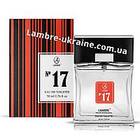 Туалетная вода Lambre №17 - The one for men - 50 мл