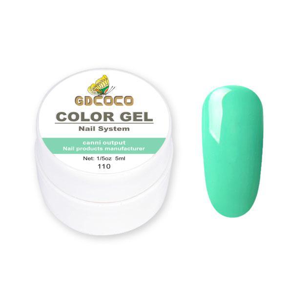 Гель-краска GDСосо Color Gel 110 Салатовый 5 ml