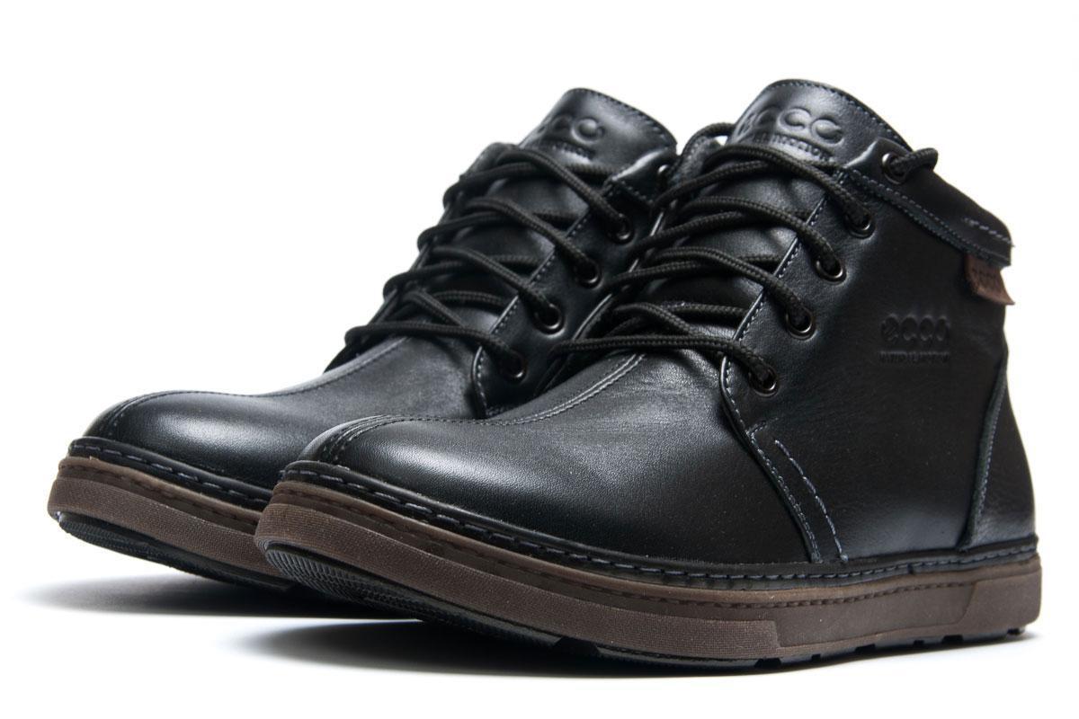 Зимние кроссовки в стиле Ecco Biom, черные (3839),  [  40 (последняя пара)  ]