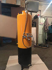 Водонагреватель-титан на твердом топливе 60 литров (под обычный смеситель), фото 2