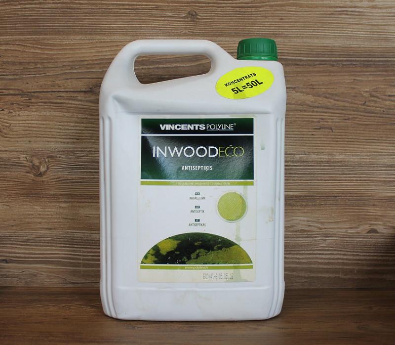 Антисептик, Inwood Eco, 10 літровий, Vincents Polyline
