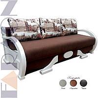 """Розкладний диван """"Міленіум"""" (для щоденного сну, механізм пантограф, пантограф, пружинний блок Боннель)"""