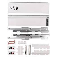 Комлект Muller Box L-500 Н-199 с надставкой белый. Выдвижной ящик (тандембокс)