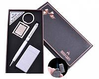 Подарочный набор брелок, ручка, зажигалка Jack Daniel's (Острое пламя)