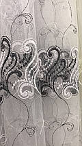 Фатиновая тюль чёрного цвета №263, фото 2