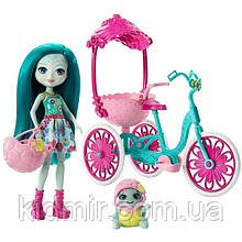 Набор Enchantimals Прогулка на велосипеде и кукла Черепашка Тайли FCC65