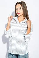 Рубашка женская вышитая бисером 266F024
