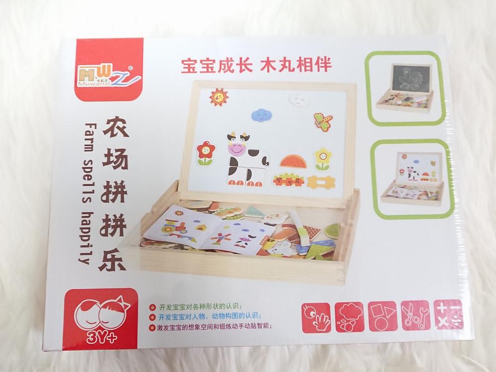 Деревянная магнитная развивающая игрушка/Магнитная доска