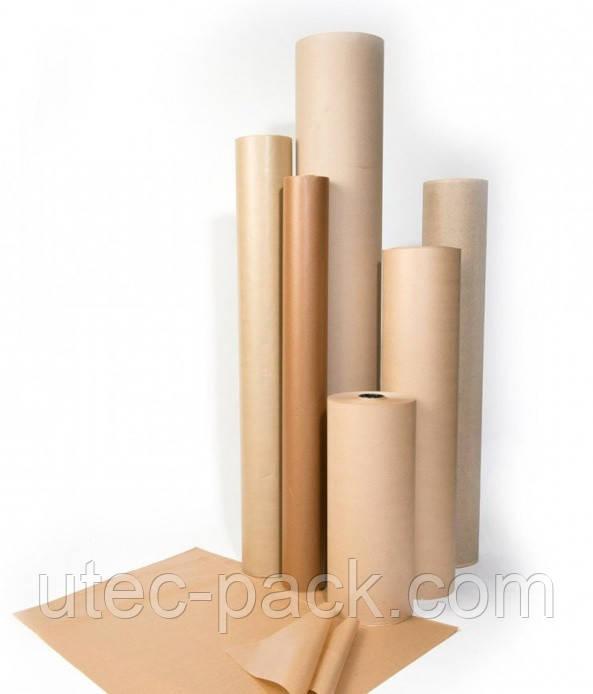 Крафтовий папір в рулонах від 25м