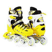 Ролики Scale Sport. Yellow. р. 29-33,34-37,38-41.