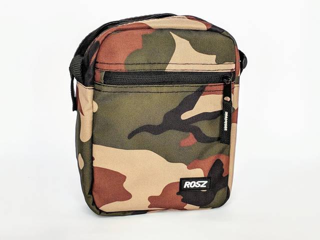 Мужская сумка через плечо как барсетка, камуфляж