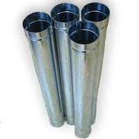 Труба дымоходная нержавейка d 180 AISI 430, 0.5мм