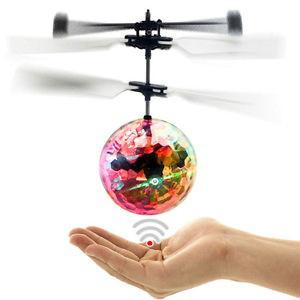 Светящийся Летающий Шар мяч вертолет LED Flying ball