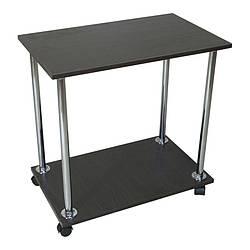 """Приліжковий журнальний столик """"Loco"""" Венге для ноутбука або сніданку, на роликах (придиванный)"""