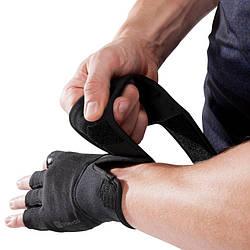 Перчатки для тяжелой атлетики Domyos fitness 900