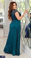 Вечернее платье L-6872 (50, 52, 54, 56) — купить Вечерние платья XL+ оптом и в розницу в одессе 7км