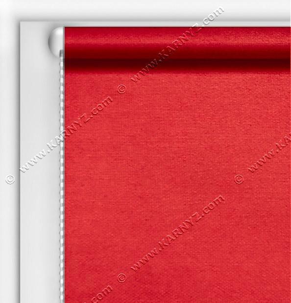Рулонні штори Блекаут Студіо червоний C-418