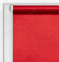 Рулонные шторы Блэкаут Студио красный C-418