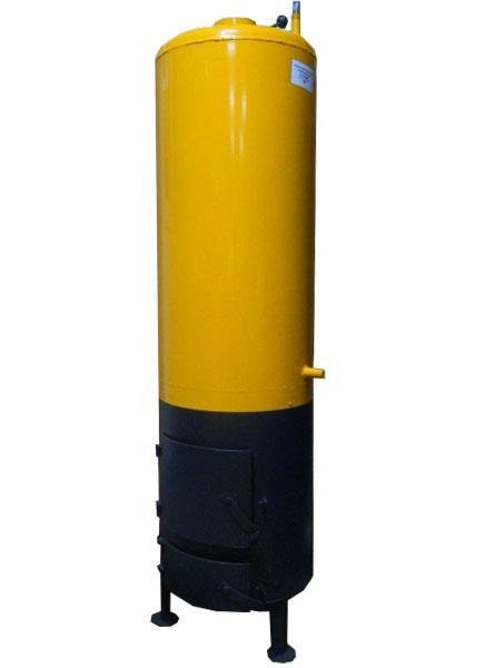 Водонагреватель-титан на твердом топливе 60 литров (под обычный смеситель)
