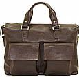 Кожаная мужская сумка для документов Vatto, фото 4