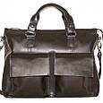 Кожаная мужская сумка для документов Vatto, фото 6