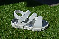 Детские босоножки сандали резиновые белые 25-35, фото 1