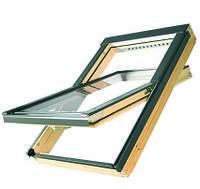 Мансардное окно 78х140 FTS-v u4 Fakro Двухкамерный стеклопакет