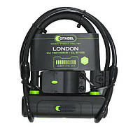 U-образный замок CITADEL CU 150/140/K/B+CL London