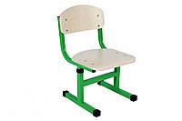 Дитячий стілець Т-подібний на кв. трубі, №1-3