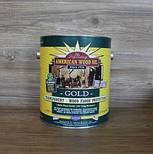 Прозрачный, золотистый тунговый лак, 3.79 litre, American Wood Oil