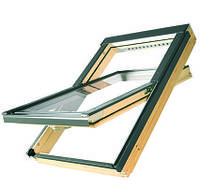 Мансардное окно 114х118 FTS-v u4 Fakro Двухкамерный стеклопакет