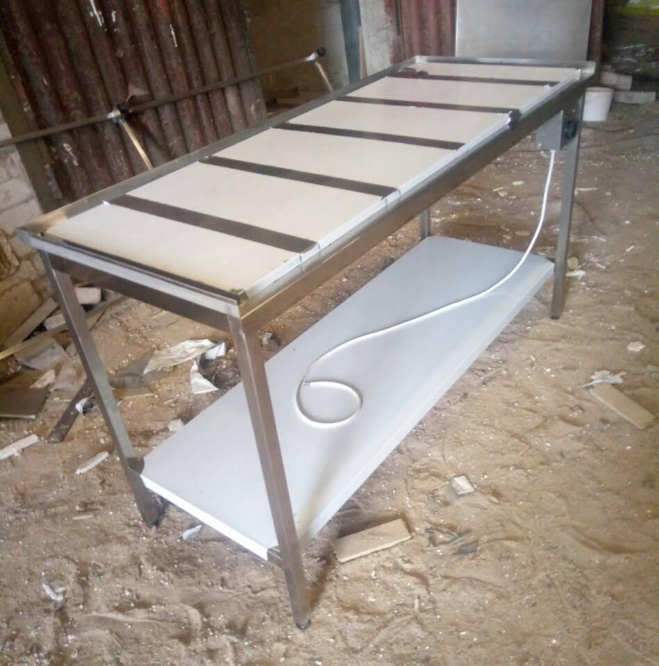 Тепловой стол для карамели