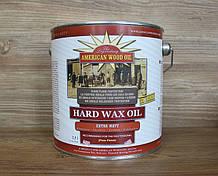 Водостойкое покрытие для деревянных поверхностей, Hard Wax Oil, Extra Matt, 2.5 litre, American Wood Oil