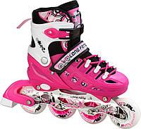 Ролики Scale Sport Pink 29-33 34-37 38-42