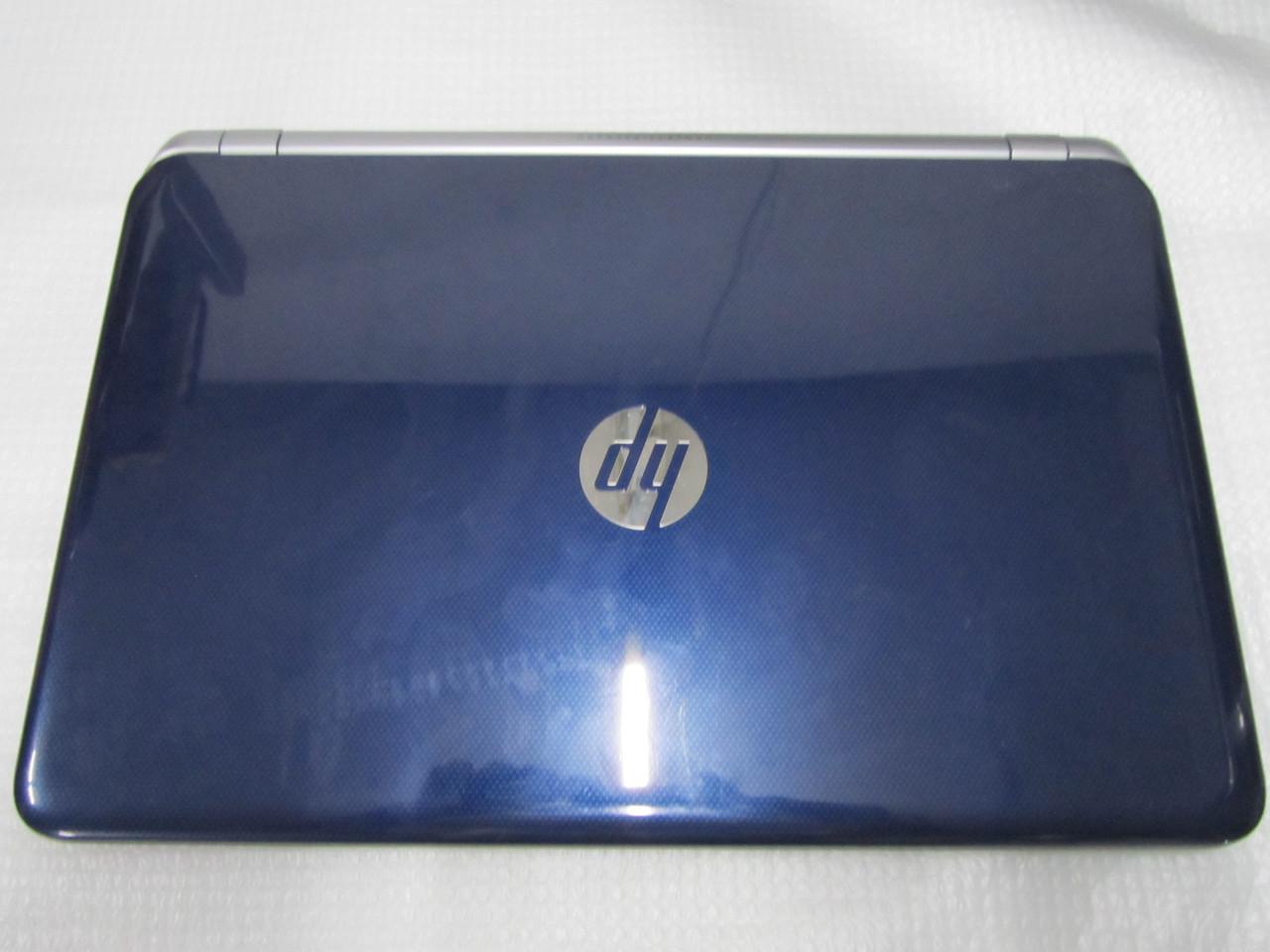 """Четырехядерный HP Pavilion 15 (15.6"""", AMD A10 2.1Гц, Синий гламурный)"""