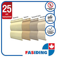 Сайдинг панель FaSiding Блок хаус (4 цвета)