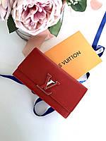 Кошелек LOUIS VUITTON Capucines красный (реплика), фото 1