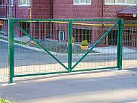 """Ворота распашные из сварной сетки """"Стандарт"""""""
