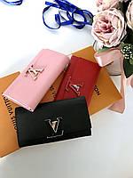 Кошелек LOUIS VUITTON Capucines розе (реплика), фото 1