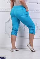 Капри L-6689 (48, 50, 52, 54, 56, 60, 58) — купить Штаны XL+ оптом и в розницу в одессе 7км
