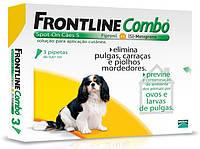Frontline Combo (Фронтлайн Комбо) Spot On Капли на холку для собак от клещей и блох