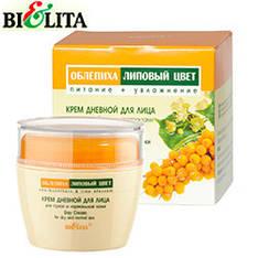 Bielita - Облепиха и Липовый цвет Крем для лица дневной для сухой нормальной кожи 50мл