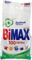 Стиральный порошок 3000г BiMAX 100 пятен Двойной эффект автомат