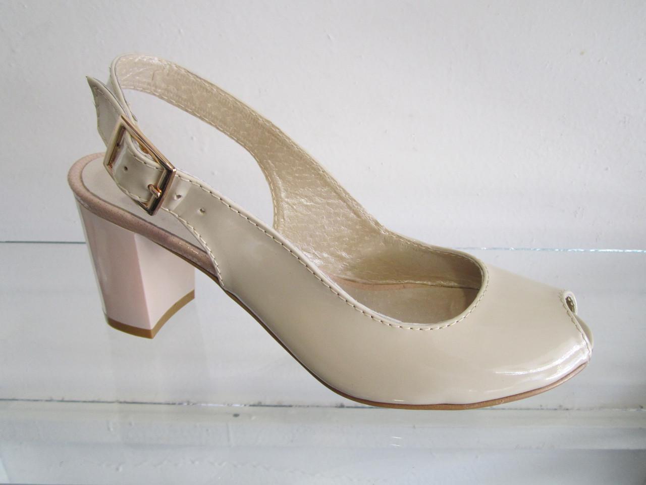 05edadf7c Босоножки женские кожаные, лаковые на каблуке - Интернет-магазин Обувной  каприз в Житомирской области