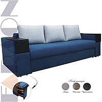 """Розкладний диван """"Кантрі з барами"""" (для щоденного сну, механізм пантограф, пружинний блок Боннель)"""