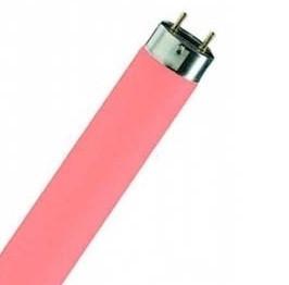 Лампа ЛР 40 (рожевий)