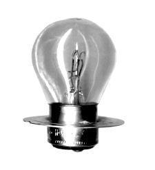 Лампа накаливания автомобильная  А12-50+40 P42d/11