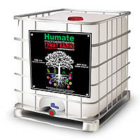 Гумат калия с микроэлементами жидкий Humate microelements Концентрат + Микроэлементы 160 г/л (1000л)