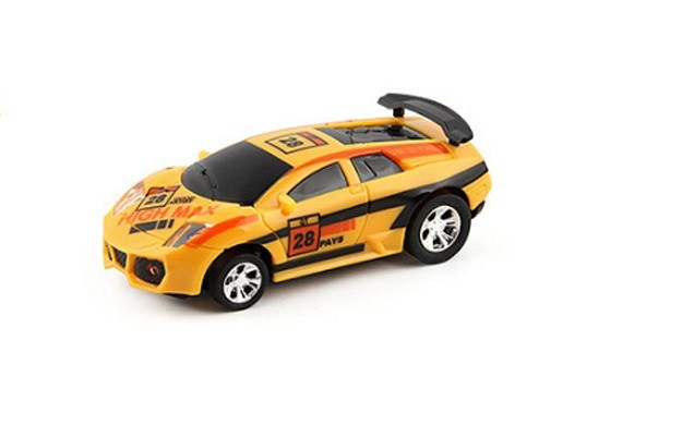 Радиоуправляемая игрушка CHENGKETOYS 1681 Машинка на радиоуправлении в банке 1:43 Желтый (SUN0660)